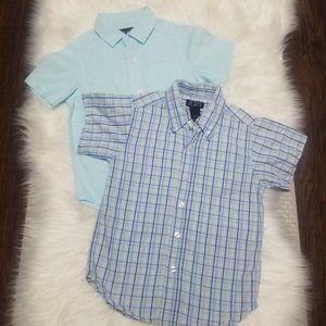The Childrens Place | Short Sleeve Shirt Set XS